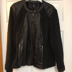 Style&Co Black Jacket 3X